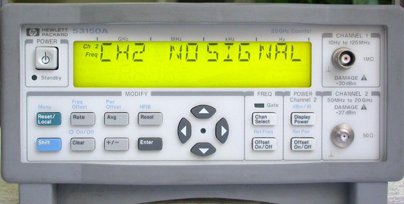 安捷伦仪器!供应Agilent 53150A频率计!进口二手仪器出售! 只要您一个电话,本公司就会派专人跟踪服务!快速报价,给您合理的回收价格,上门现金结算(中介有酬;欢迎来电!) 东莞市塘厦博信电子仪器有限公司 联系人:李勇华