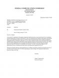 FCC授权证书