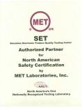 MET认可实验室-Authorization Of MET