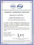 CNAS认可英文证书