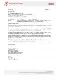 UL2238 防水连接器目击授权信...