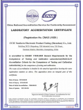 CNAS 英文-CNAS Accreditation Certifi...