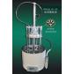 YGC-12D圆形氮吹仪|12孔圆形水浴氮吹仪【郑州宝晶】